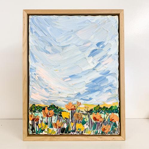 """9x12"""" Garden Collection, No.2 (Framed)"""