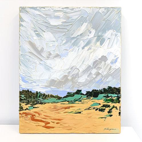 "16x20"" PERI BLUE LANDSCAPE - No.2"