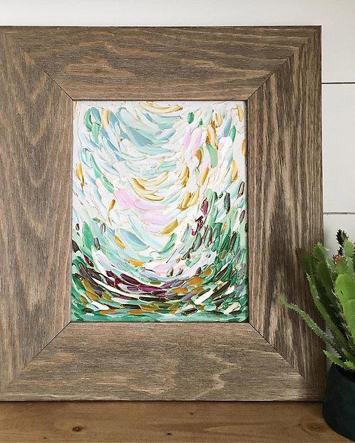 """""""Spring Landscape No.1"""" 8x10"""" Framed"""