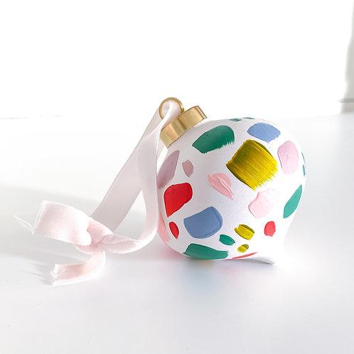 Confetti Ornament - no.7