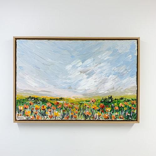 """20x30"""" Garden Collection, No.3 (Framed)"""