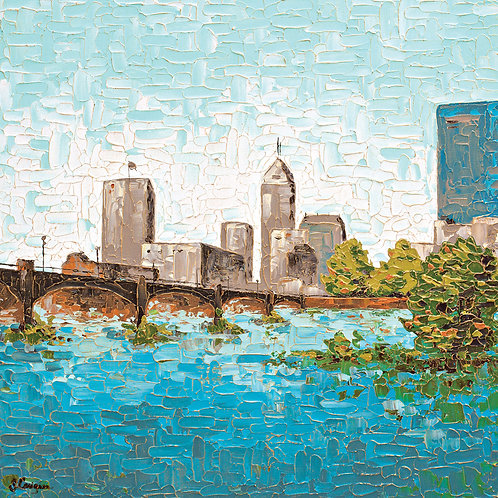 """Indianapolis, Canal View"""