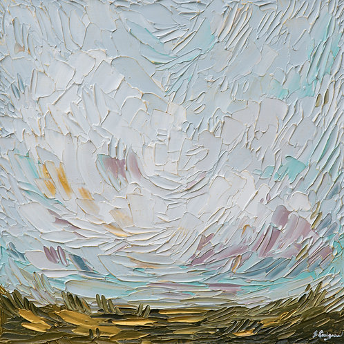 """24x24"""" Chasing Clouds, No.9"""