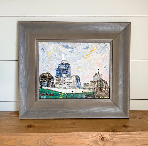 "8x10"" - Impressions of Indy - Mass Ave / Eastside Framed"