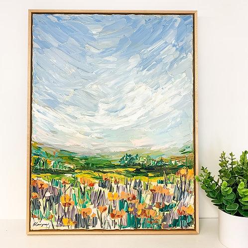 """18x24"""" Garden Collection, No.1 (Framed)"""