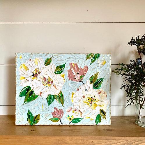 "9 x 12"" Spring Floral study, no.1"