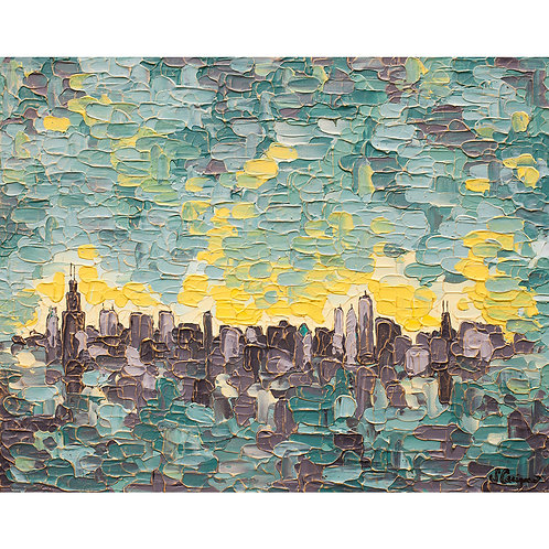 """Chicago Skyline"""
