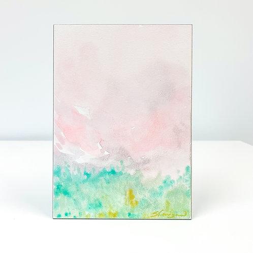 "5x7"" Watercolor Landscape Study - No.4"