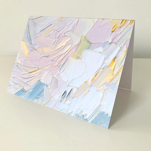 """5.5 x 4"""" SPRING PALETTE CARDS - Set of 5"""