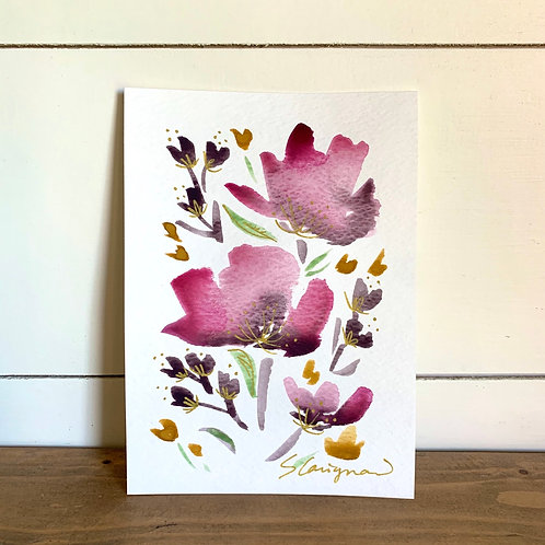 """5x7"""" Mother's Day Floral, no.11"""