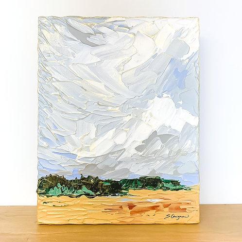 "11x14"" PERI BLUE LANDSCAPE - No.3"