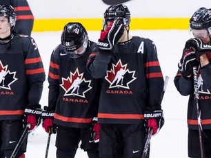 Team Canada Finnished At World Juniors