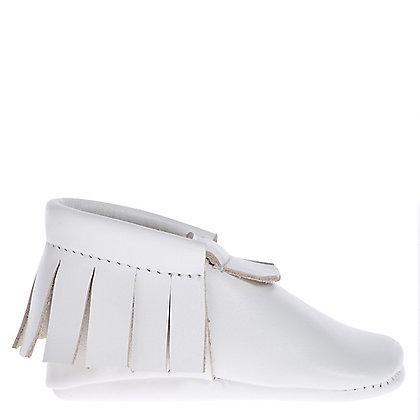 moccs flecos blanco