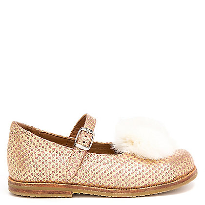 ZAPATO MILA gold/pink