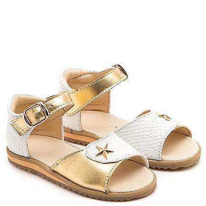 sandalia estrella dorada
