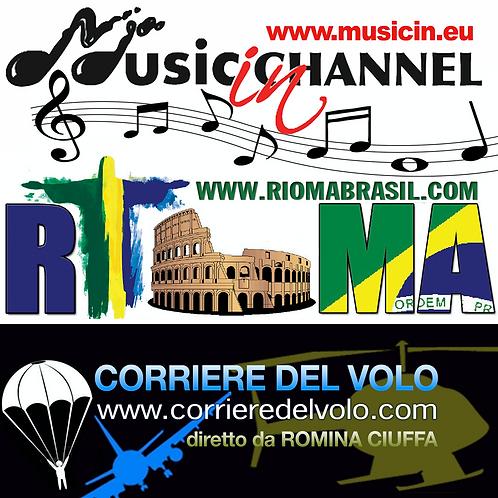 INTERVISTA SU MUSIC IN, RIOMA BRASIL, CORRIERE DEL VOLO