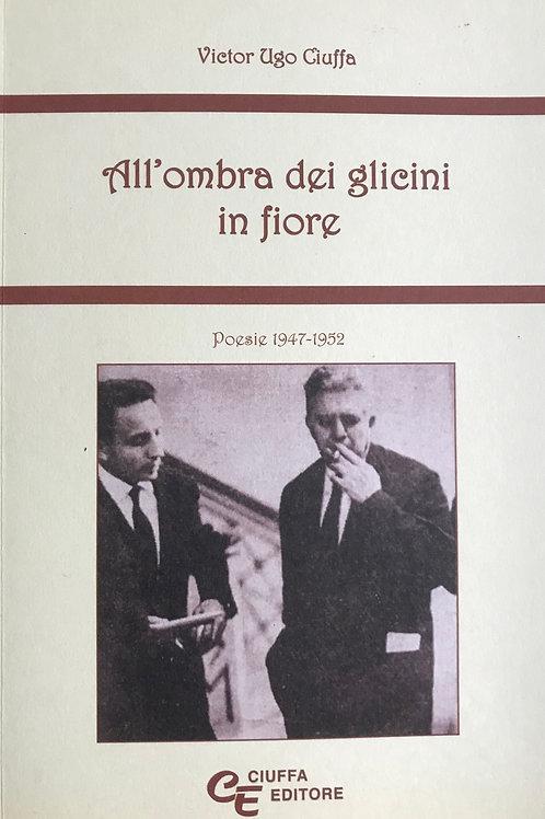 ALL'OMBRA DEI GLICINI IN FIORE (ebook) | Poesie di Victor Ciuffa