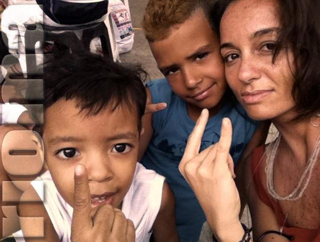 Romina Ciuffa, Favela da Rocinha (Rio)