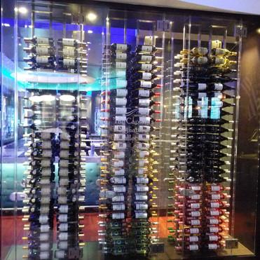 Commercial Wine Cooler Display