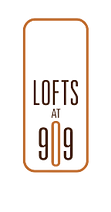 Logo of Lofts at 909 - everything is included in rent.