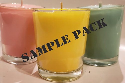 Sample Pack 3 Diff Scents a month