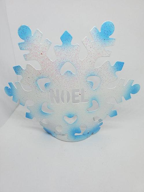 Noel Snowflake Tealight Set