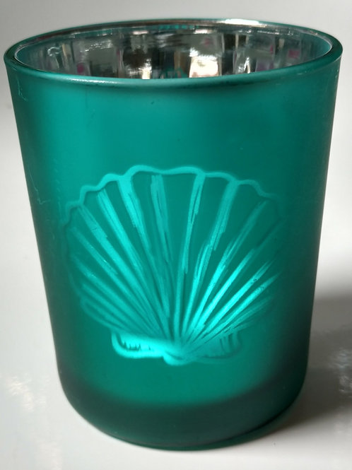 Turq Clam Shell