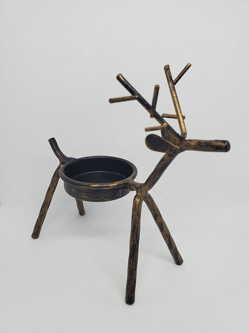 Reindeer Tea Light Holder