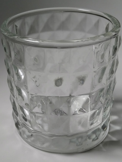 Clear Textured Container