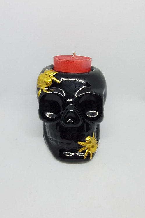 Skull Tealight Set