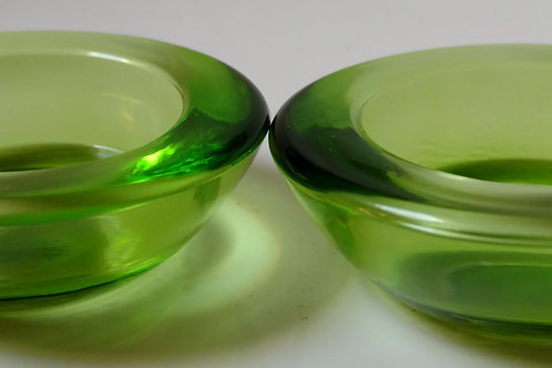 Green Tealight Set