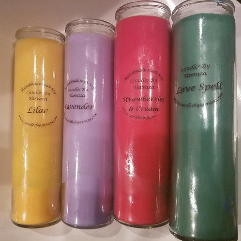 Tall Skinny Glass Candle