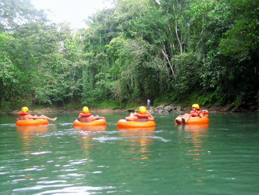 River Tubing at Big Falls