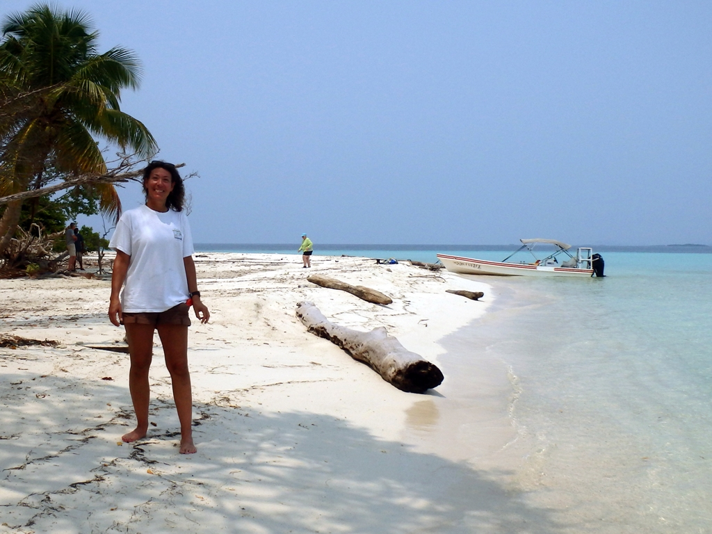 West Snake Caye beach