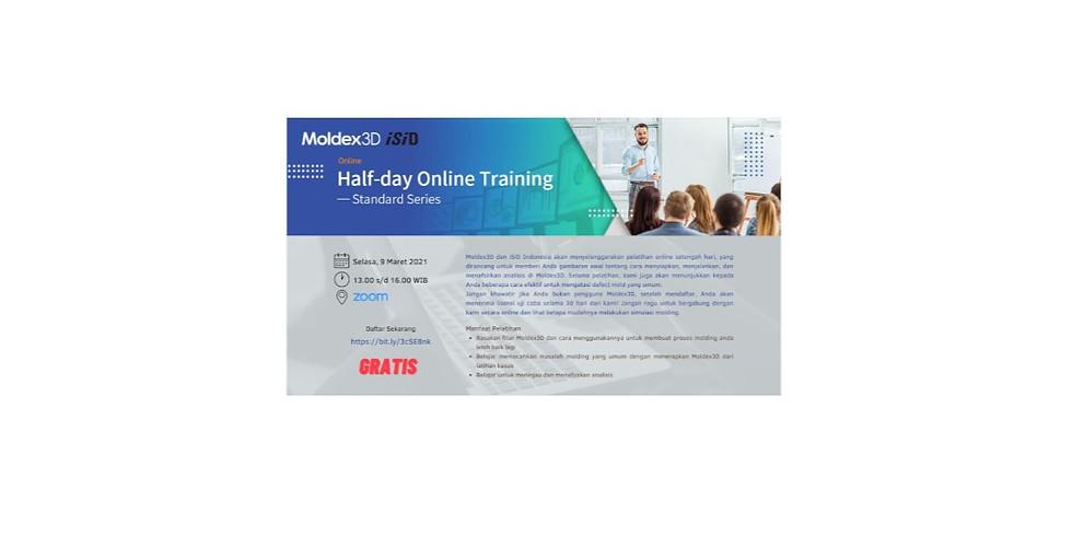 Moldex3D Half-day Online Training