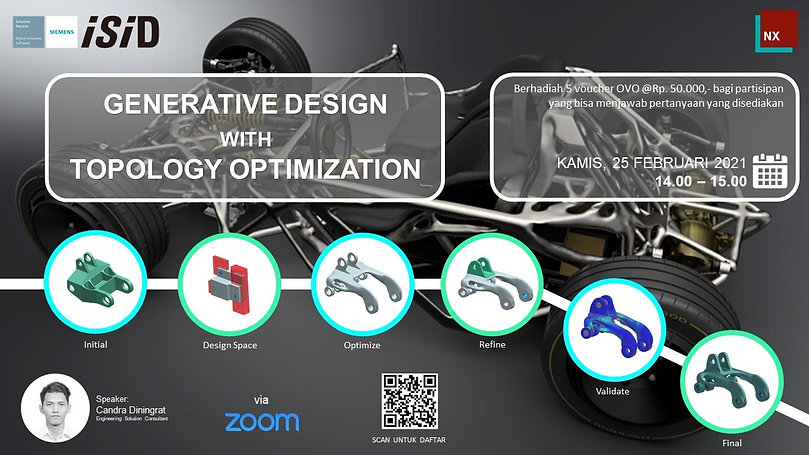 Generative Design with Topology Optimiza