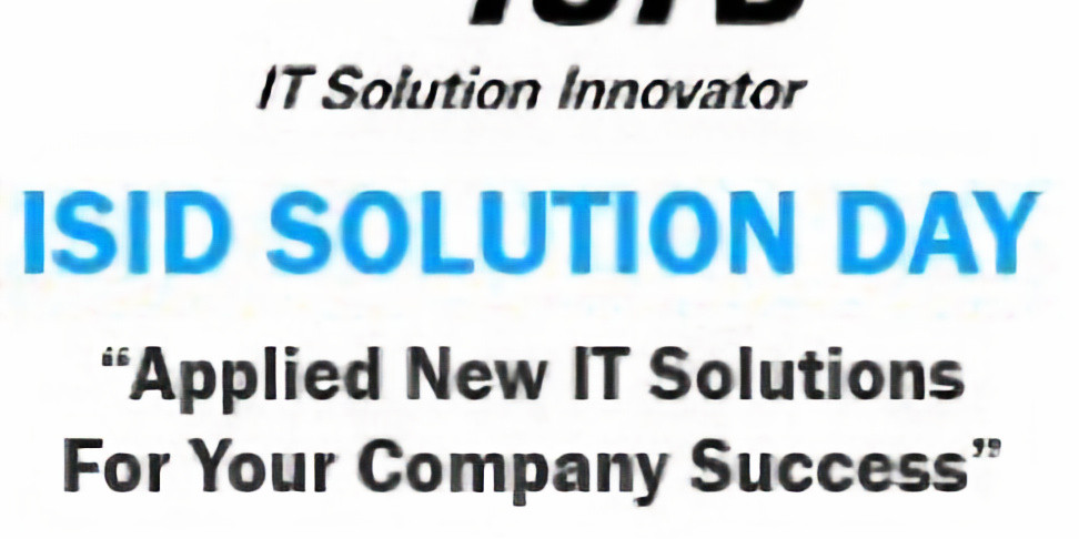 ISID Solution Day