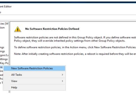 Software Restriction Policy