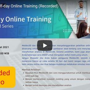 Moldex3D Half-day Online Training Telah Sukses Dilaksanakan
