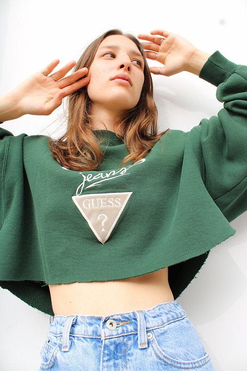 "Vintage ""Guess"" Cropped Sweatshirt"