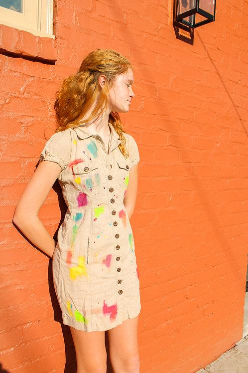 UpCycled Artist's Dress