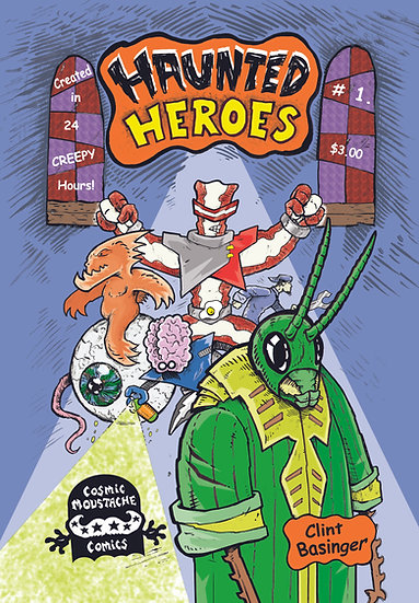 Haunted Heroes #1