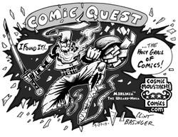 merlinja comic quest
