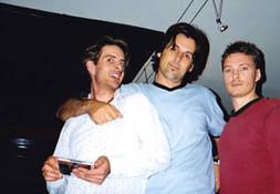 Andy, John and Denny Sydney, 1997
