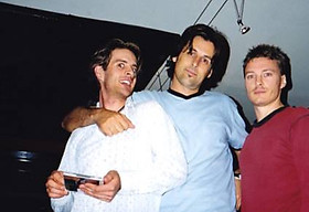 Andy, John and Denny Sydney, 1997
