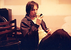 John - Backstage Evelyn Hotel, Fitzroy 1999