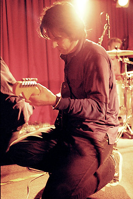 John - Sound check at the Evelyn Hotel, Fitzroy 1999