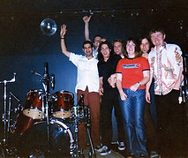 End of Tour with Kaliedoscope, Adelaide, 1998