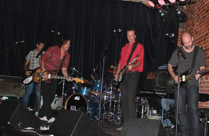 Paul Inglis, John Baxter, Geoff Barnes, Doug Lee Robertson, Matt Balfe