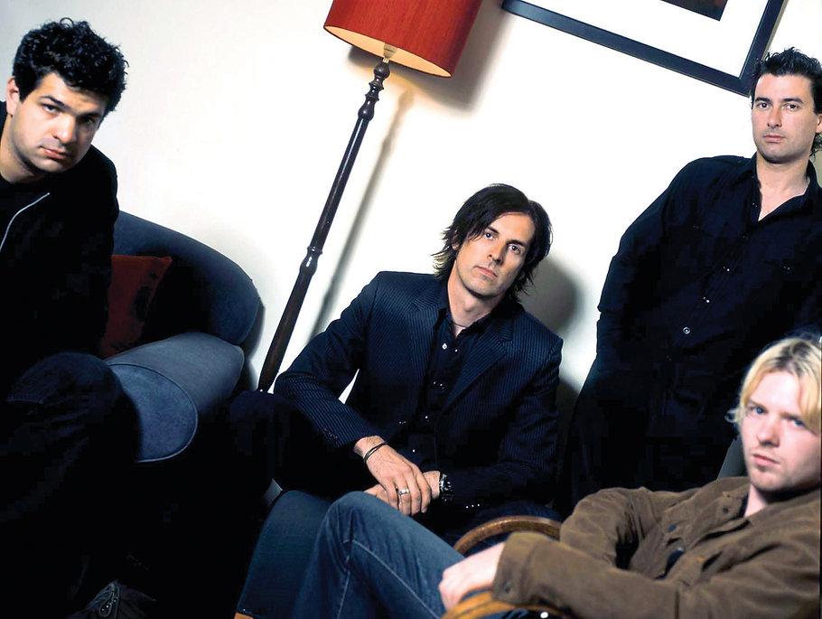 Prettymess band - Paul Inglis, John Baxter, Paul Cengia, Ryan Temby